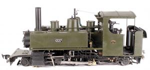 World War I 2-6-2 Side Tank Locomotive No. 1227. Estimate: £3,000-£4,000. Dreweatts & Bloomsbury Auctions image.
