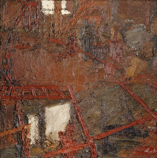 Image courtesy of Tate Britain, Frank Auerbach works from Lucian Freud Estate