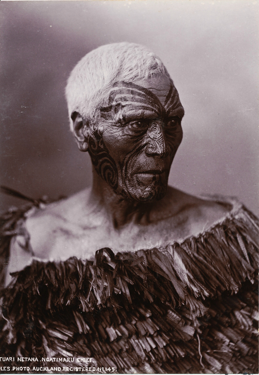 London-based tribal art dealer Lisa Tao will be offering this gelatin silver print photograph of a Maori chief, circa 1890, at the Tribal Art London fair from Sept. 10-13, where it will be priced at £1,000 ($1,660). Image courtesy Lisa Tao and Tribal Art London.