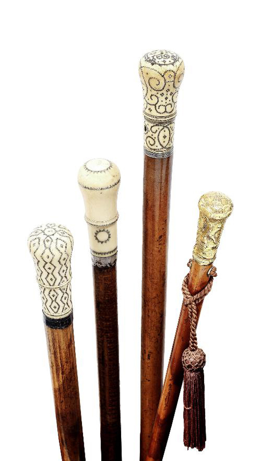 Miscellaneana Walking Sticks And Canes Amazing Decorated Canes