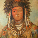 An Ojibwe named Boy Chief, by the noted American painter George Catlin. Image courtesy of Wikimedia Commons.