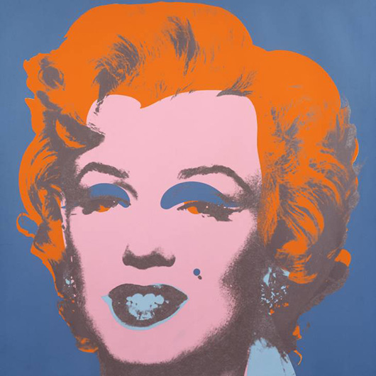 Andy Warhol, [no title] 1967, screenprint on paper. Purchased 1971© The Andy Warhol Foundation for the Visual Arts, Inc./ARS, NY and DACS, London 2009.