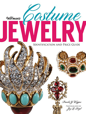 The cover of the new Warman's Costume Jewelry Identification and Price Guide by Pamela Y. Wiggins