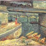 Van Gogh's 'Bridges across the Seine at Asnieres.' Image courtesy of Wikimedia Commons.