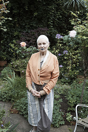 UK's Nat'l Portrait Gallery unveils portrait of Dame Vivienne Westwood