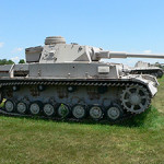 A1942 Panzer IV Ausf. F2 tank at the United States Army Ordnance Museum, Aberdeen Proving Ground, in Maryland. Image by Mark Pellegrini. This file is licensed under the Creative Commons Attribution ShareAlike 2.5 license.