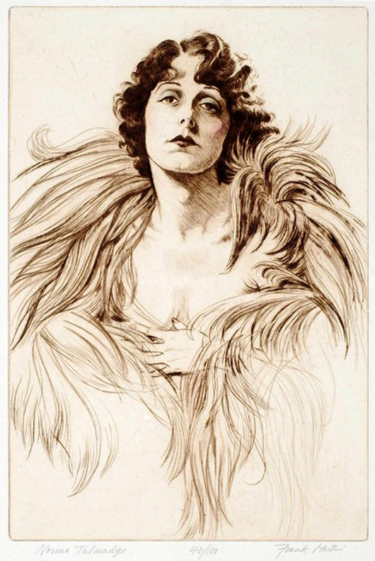Norma Talmadge, number 40 of a limited edition of 100, by Frank Martin. Price: £895. Photo: Candice Horley
