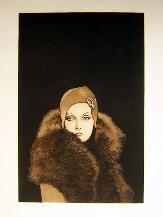 Greta Garbo by Frank Martin. Price: £1,495. Photo: Candice Horley