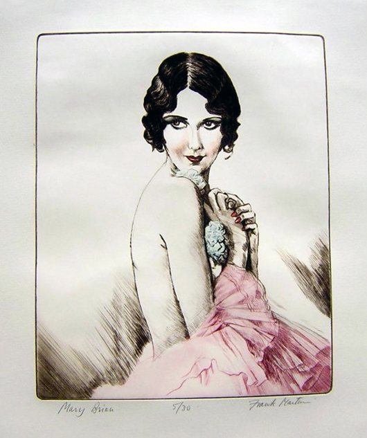Hollywood actress Mary Brian, number 5 of a limited edition of 30, by Frank Martin. Price: £895. Photo: Candice Horley