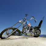 The customized Captain America chopper Peter Fonda rode in 'Easy Rider.' Profiles in History image.