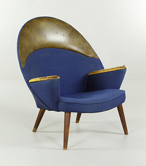 This Rare Hans Wegner Upholstered Peacock Chair Set A New U.S. Record For  The Danish Designer