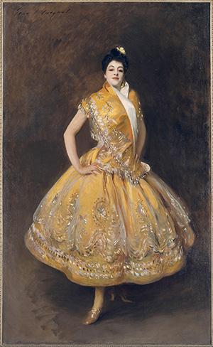 'La Carmencita' by John Singer Sargent © Musée d'Orsay, Paris (R.F. 746).