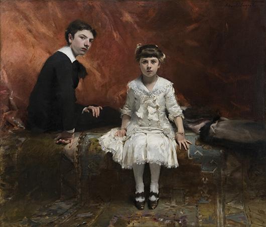 'Édouard and Marie-Louise Pailleron' by John Singer Sargent, 1881 © Des Moines Art Center, Des Moines, Iowa.