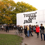 Frieze contemporary art fair to be held in Regents Park on Oct. 15-18 is set to dominate the London art scene over the next few weeks. Image courtesy of Frieze.