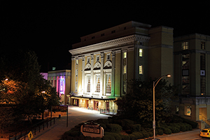 The Carolina Theater in Charlotte was designed in the Beaux-Arts style by the Washington, D.C. architectural firm of Milburn & Heister and completed in 1926. Image by Caroline Culler. This file is licensed under the Creative Commons Attribution-ShareAlike 3.0 Unported license.