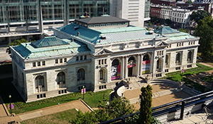 The International Spy Museum planned to move to Washington's Carnegie Library, but neighbors and historic preservationists objected to changes to the historic structure. Image by Bobak Ha'Eri. This file is licensed under the Creative Commons Attribution-ShareAlike 3.0 Unported license.