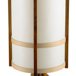 The fiberglass shade is a clue to the age of this lamp by George Nakashima. It was made in 1977 and sold for $6,875 at a Rago Arts auction in Lambertville, N.J.
