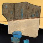 Enrico Donati (American, 1909-2008), 'Atlantis II,' mixed media on canvas. Stefek's image