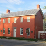 The 1839 Levi Coffin House in Fountain City, Ind., is designated at National Historic Landmark. Image courtesy of Wikimedia Commons.
