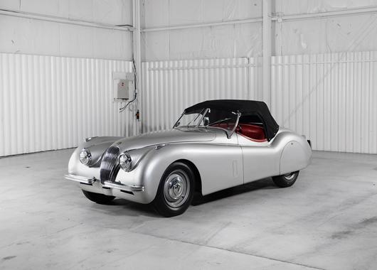1952 Jaguar XK120, $88,000. Morphy Auctions image