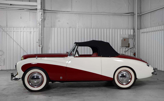 1954 Sunbeam Alpine Supreme, $50,600. Morphy Auctions image