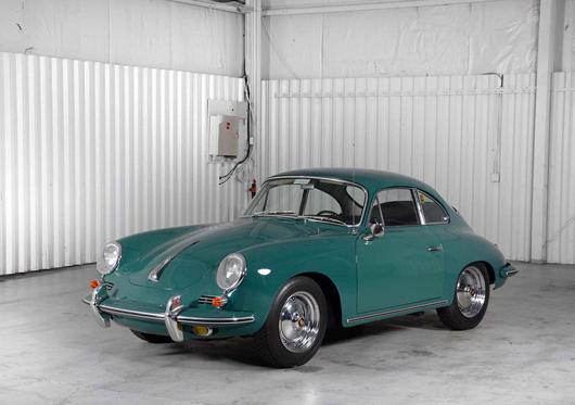 1963 Porsche 356B T-6, $121,000. Morphy Auctions image