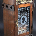 American Tobacco Co. 'Sherlock Holmes' oak tobacco cabinet, circa 1936, 12 inches high. Image courtesy of LiveAuctioneers.com archive and John Nicholson Fine Art Auctioneer and Valuer.