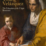 The cover of the book titled 'The Young Velazquez: The Education of the Virgin Restored,' (2014: Yale University Press). The narrative of this painting and its reattribution is chronicled, accompanied by a detailed description of the painting's conservation campaign and analysis of the artist's technique. Image courtesy of Yale University Art Gallery