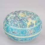 Unknown, Chinese Box, Qianlong period (1736-1795), porcelain. Gift of Mildred Taber Keally; Courtesy of Carnegie Museum of Art