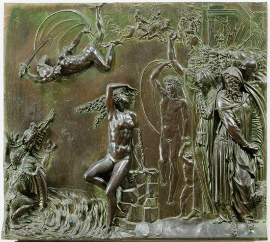 Benvenuto Cellini, 'Perseus and Andromeda,' 1552-53, Museo Nazionale del Bargello, Firenze, Photo: Erich Lessing / Art Resource, NY
