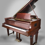 Steinway Model O piano, serial number 203730, circa 1920. Price realized: $25,200. Capo Auction image