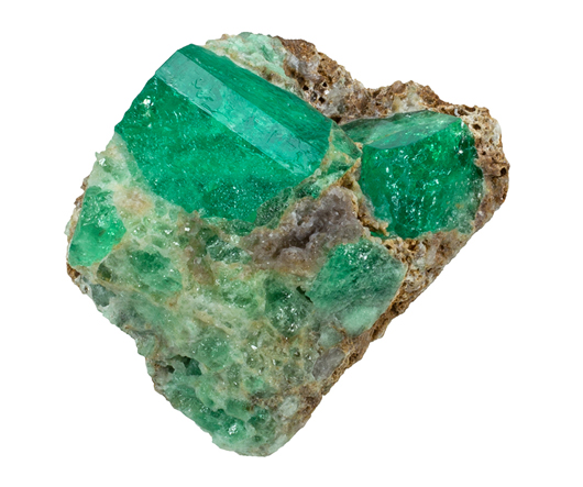 Emerald, Muzo Mine, Boyaca Dept, Colombia; 174 grams, ex Dr. Marvin Rausch collection. Est. $30,000-$40,000. Morphy Auctions image