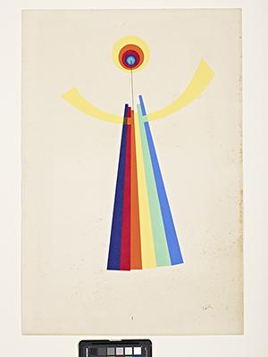 Man Ray (American, 1890–1976), 'Mime,' 1926, pochoir, Indianapolis Museum of Art, Emma Harter Sweetser Fund, 75.733.1. © Man Ray Trust / Artists Rights Society (ARS), NY / ADAGP, Paris 2014