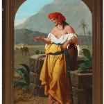 Enrico Fanfani, oil painting. Estimate: €6,000-8,000. Nova Ars Auction image