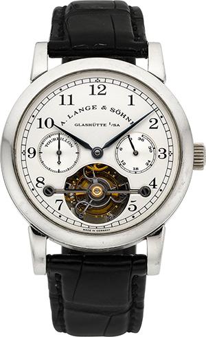 Heritage Auctions anticipates this A. Lange & Söhne Glashütte ref. 701.005 platinum Tourbillon