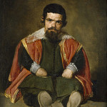 Professor Richard Johnson's technique has provided evidence to date Diego Velazquez's 'Sebastian de Morra' (circa 1645), a dwarf and jester at the court of Philip IV of Spain. Image courtesy of Wikimedia Commons.