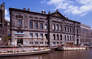 Old building of the Nederlandsche Bank, now Allard Pierson Museum in Amsterdam, The Netherlands. Copyrighted image used with permission of Amsterdam Municipal Department for the Preservation and Restoration of Historic Buildings and Sites (bMA)