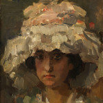 The highlight of the fine art category and second highest lot of the sale was this European work, 'Portrait of the Young Woman.' This oil on board by Isaac Israels (Dutch, 1864-1934) soared past its estimate of $30,000-$50,000 to a monumental price of $95,200. Clars Auction Gallery image