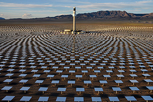 'Solar Reserve' by John Gerrard, New York City. Photo via publicartfund.org