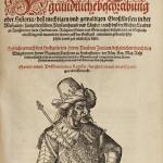 Lot 15 – 'Bildnisse viler zum theyle von vralten …' by M. Beuther, parchment binding, 1579. Anticvarium image