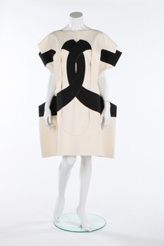 Rei Kawa Kubo-Commes des Garcons dress. Image courtesy of LiveAuctioneers.com archive