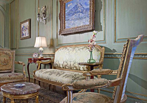 The Paul Cézanne oil painting at the Edsel & Eleanor Ford House before it was sold to a private buyer for $100 million. The Detroit Free Press reports it is one of the 15 most expensive works of art ever sold. Image courtesy Edsel & Eleanor Ford House.