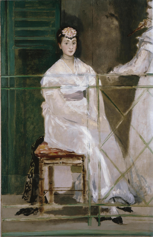 Norwich Castle Museum's spring exhibition 'Homage to Manet' will feature the artist's oil on canvas 'Portrait of Mademoiselle Claus' of 1868. Image courtesy ©Ashmolean Museum, University of Oxford