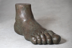 Gaetano Pesce, bronze foot, Superego edition of five. Estimate: €100,000-€110,000. Nova Ars image