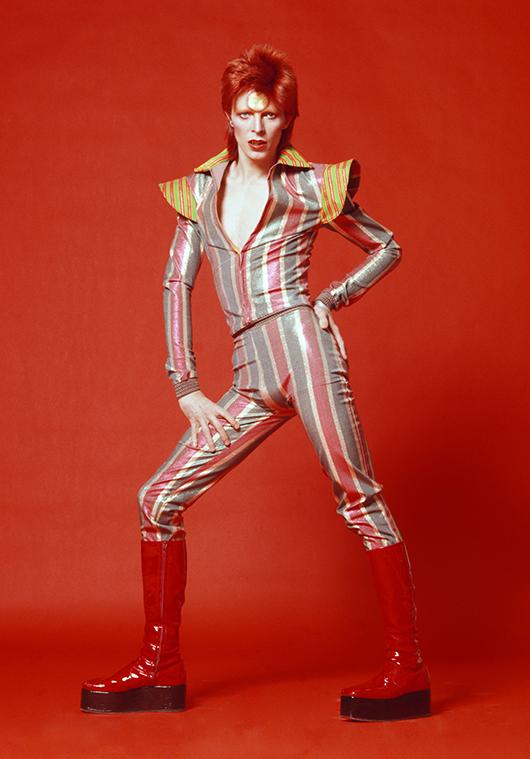 David Bowie, 1973. Photo: Masayoshi Sukita. © Sukita / The David Bowie Archive