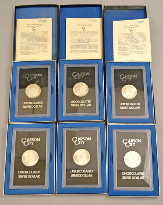 Stephenson's Jan. 23 numismatic auction led by gold & silver coins, proof sets