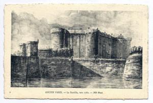 La Bastile – the medieval fortress turned infamous prison – was destroyed during the French Revolution.