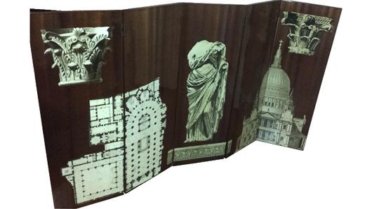 Italian Manufacture, screen, circa 1950. Estimate: €5,000-€6,000 ($5,648-$6,778) Nova Ars image