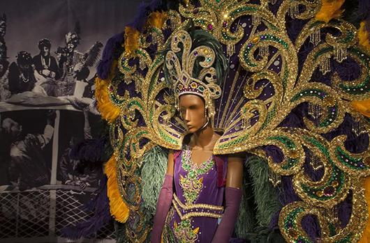 An Invitation To Celebrate With Mardi Gras Memorabilia