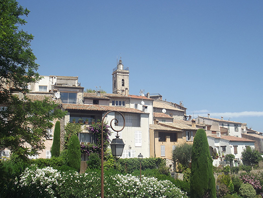 The village of Mougins, France, where Pablo Picasso (Spanish, 1881-1973) resided for the last 12 years of his life. Photo by Rinaldi, licensed under the Creative Commons Attribution-Share Alike 3.0 Unported license.